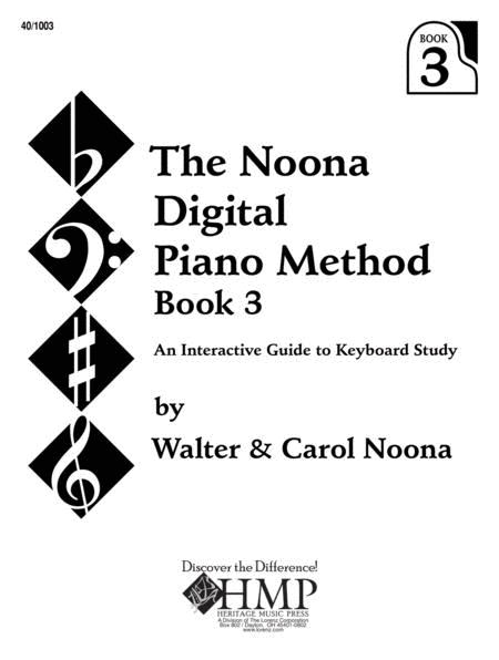 Noona Digital Piano Method Book 3