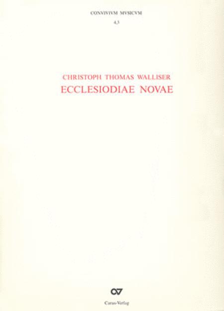 Ecclesiodiae novae (CONVIVIVM MVSICVM, Bande 4.1, 4.2 und 4.3)