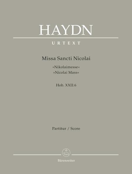 Missa Sancti Nicolai Hob. XXII:6 'Nicolai Mass'