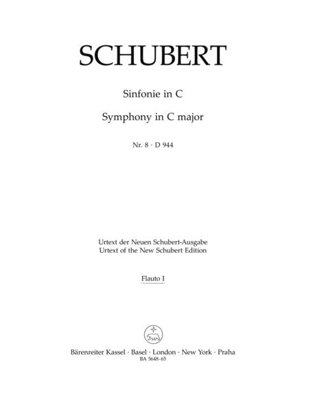 Symphony, No. 8 C major D 944 'The Great'