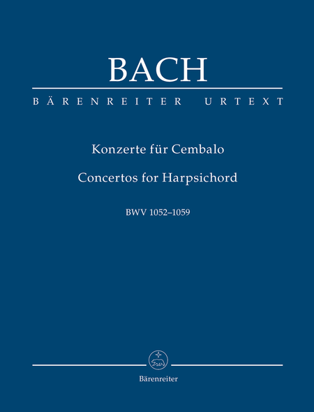 Concertos for Harpsichord BWV 1052-1059