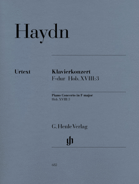 Concerto for Piano (Harpsichord) and Orchestra F Major Hob.XVIII:3