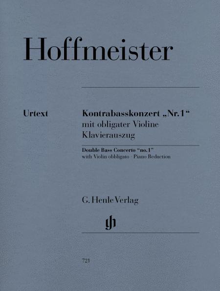 Concerto No. 1 for Double Bass and Orchestra with Violin Obbligato