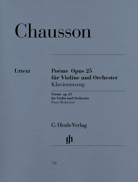 Poème for Violin and Orchestra Op. 25