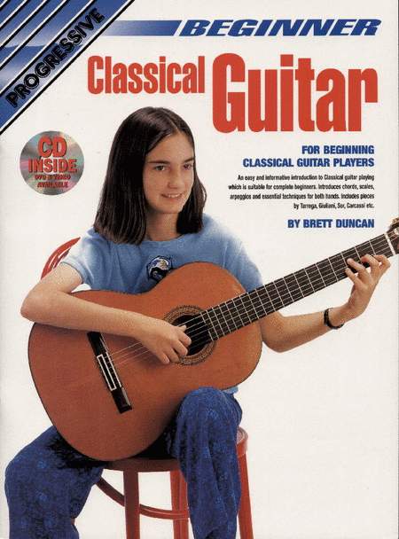 Progressive Beginner Classical Guitar (Book/CD/DVD)