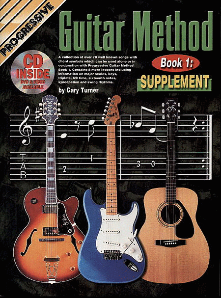 Progressive Guitar Method 1 Supplement (Book/CD/DVD)