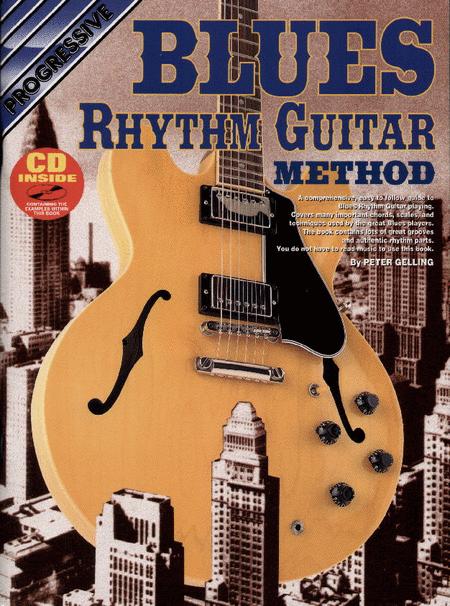 Progressive Blues Rhythm Guitar Method (Book/CD)
