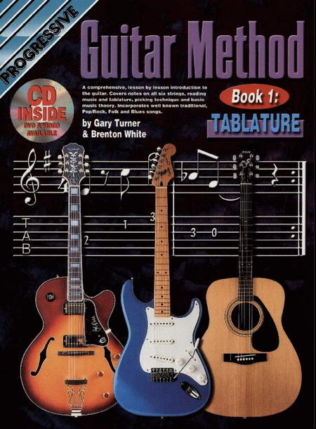 Progressive Guitar Method Book 1: Tab (Book/CD/DVD)