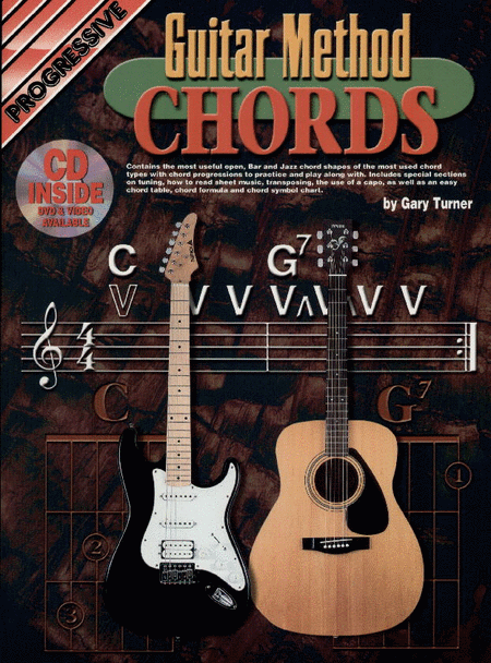 Progressive Guitar Method Chords (Book/CD/DVD)
