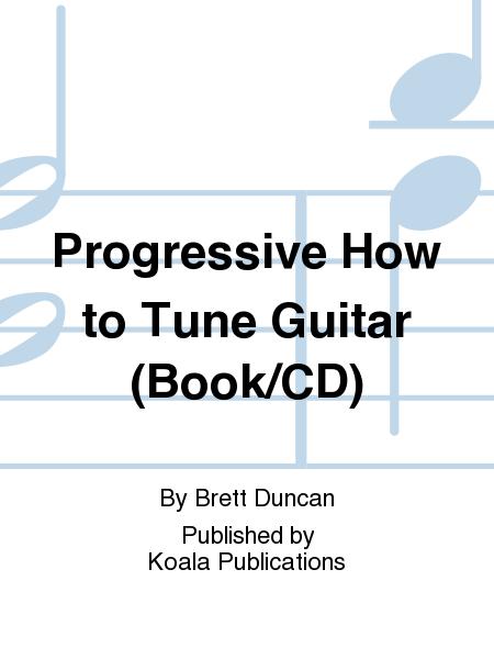 Progressive How to Tune Guitar (Book/CD)