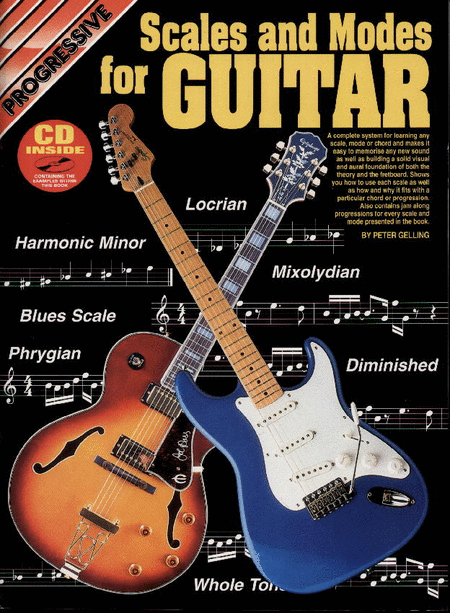 Progressive Scales & Modes Guitar (Book/CD)
