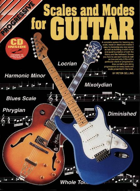 Progressive Scales & Modes Guitar (Book/CD)