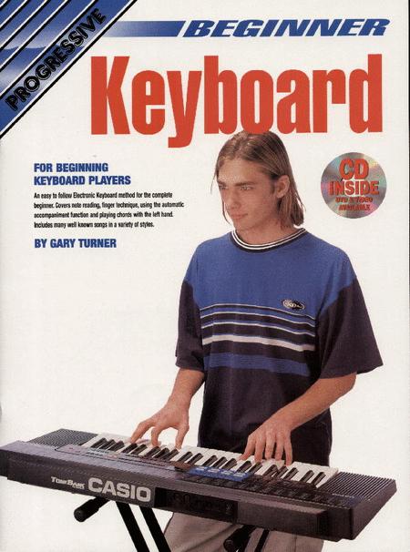 Progressive Beginner Keyboard (Book/CD/DVD)