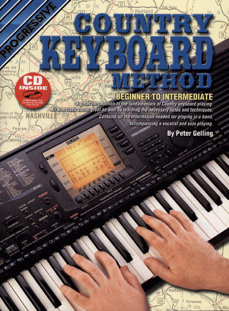 Progressive Country Keyboard Method (Book/CD)