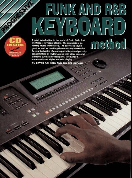 Progressive Funk & R&B Keyboard Method (Book/CD)
