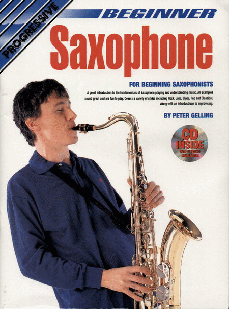 Progressive Beginner Saxophone (Book/CD/DVD)