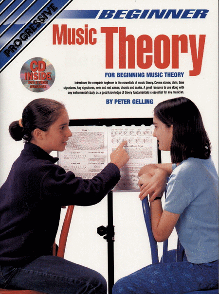 Progressive Beginner Music Theory (Book/CD)