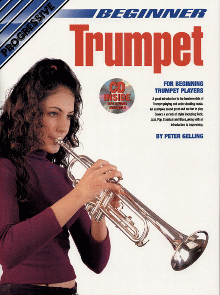 Progressive Beginner Trumpet (Book/CD/DVD)