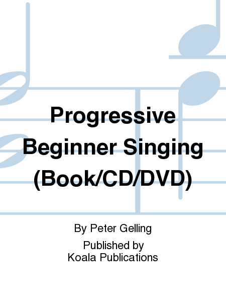 Progressive Beginner Singing (Book/CD/DVD)