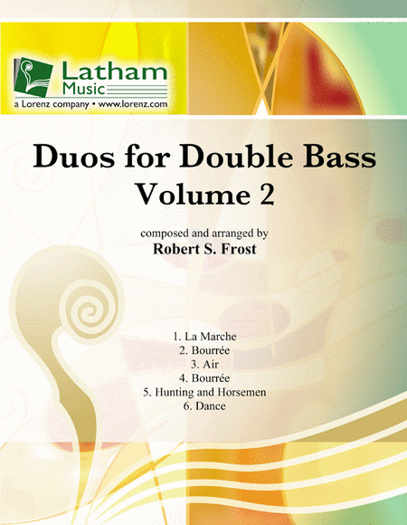 Duos for Double Bass: Volume 2
