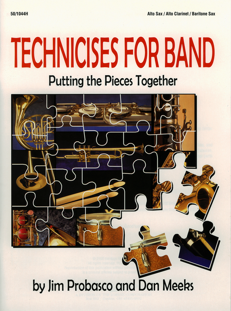 Technicises For Band Alto Sax/Alto Clarinet/Bari Sax