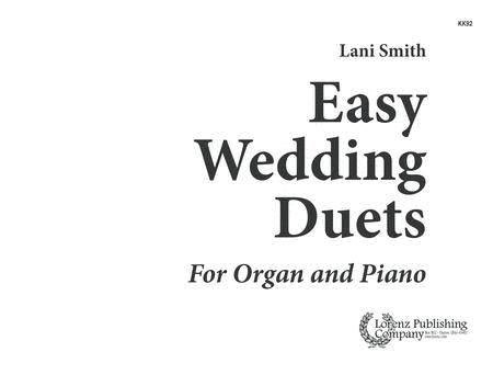 Easy Wedding Duets