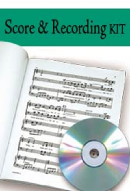 Touched by a Child, Touched by a King - SATB Score with Performance CD