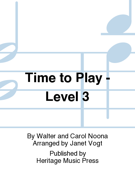 Time to Play - Level 3