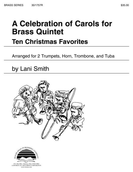 A Celebration of Carols for Brass Quintet