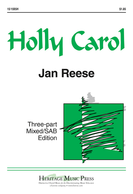 Holly Carol - 3-part Mixed/SAB