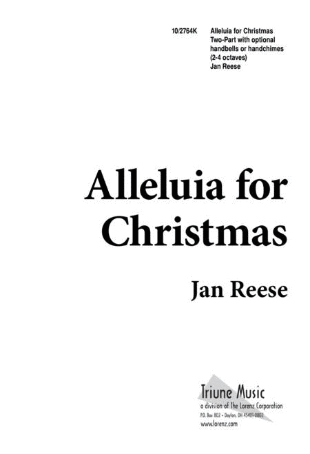 Alleluia for Christmas