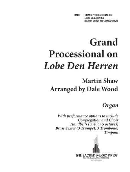 Grand Processional on