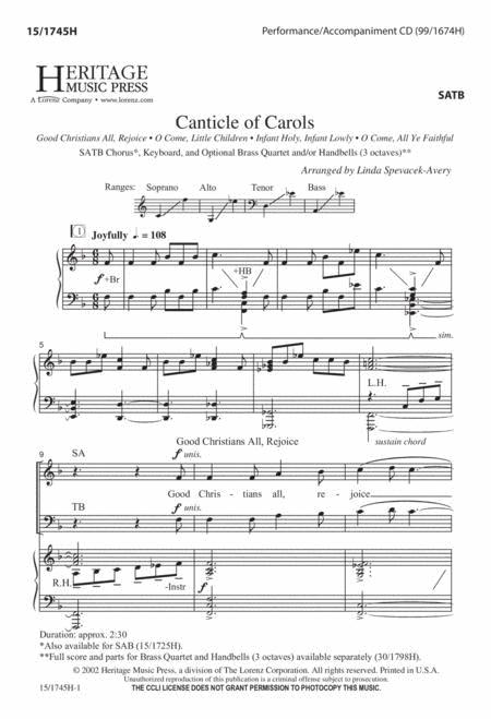 Canticle of Carols