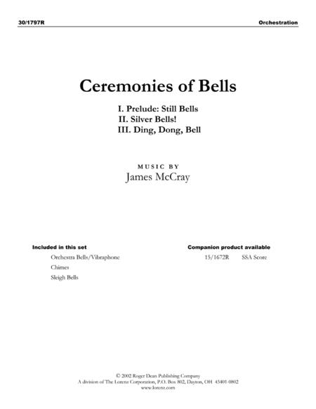 Ceremonies of Bells - Percussion Parts