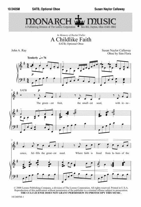 A Childlike Faith