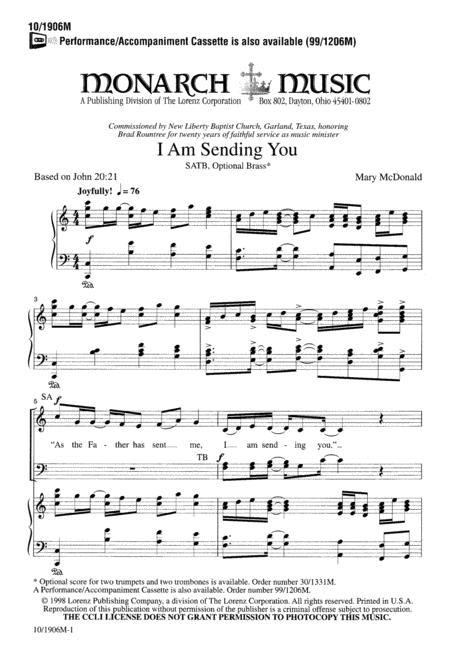 I Am Sending You