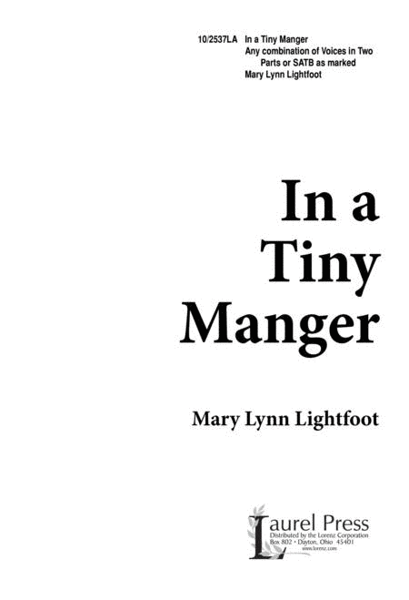 In a Tiny Manger