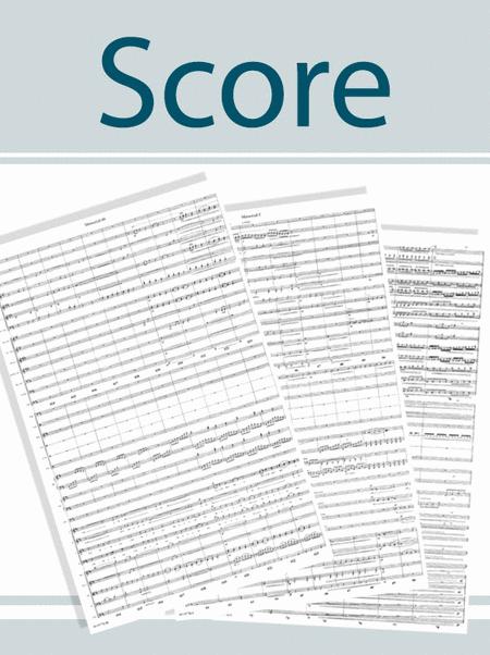 Jesus, Joyful Thought -String Score