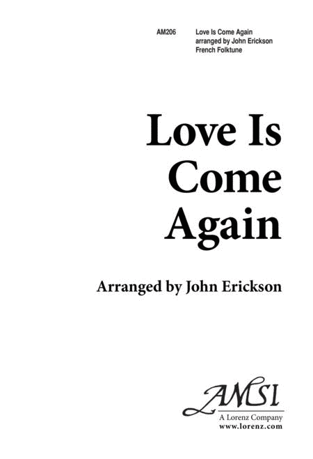 Love is Come Again