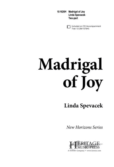 Madrigal of Joy