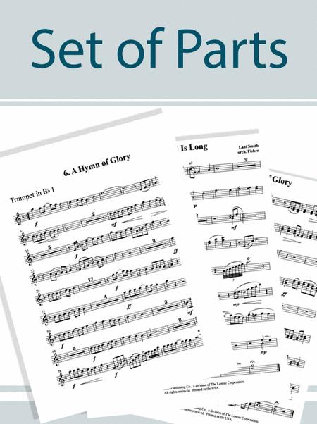 My Great Redeemer's Praise - Instrumental Parts