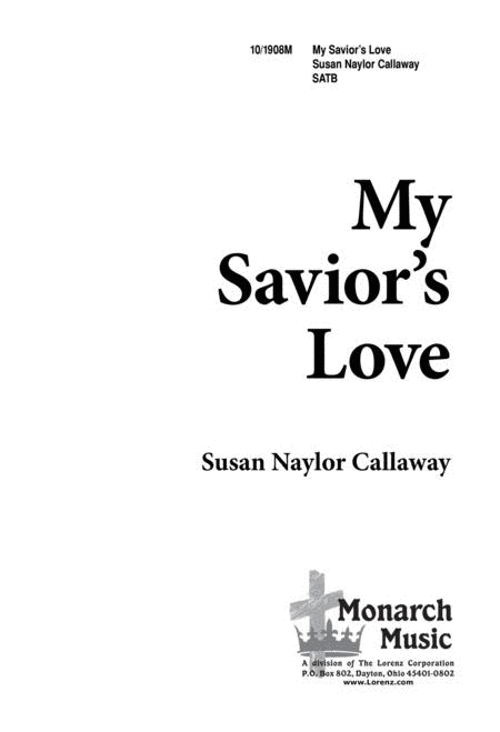 My Savior's Love