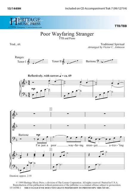 Poor Wayfaring Stranger