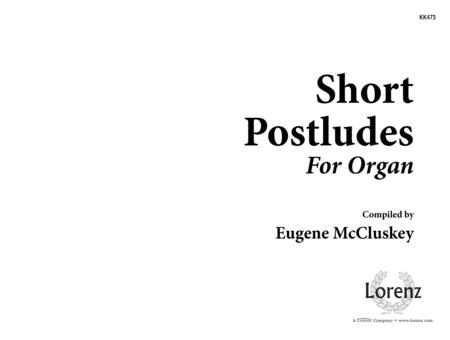 Short Postludes for Organ