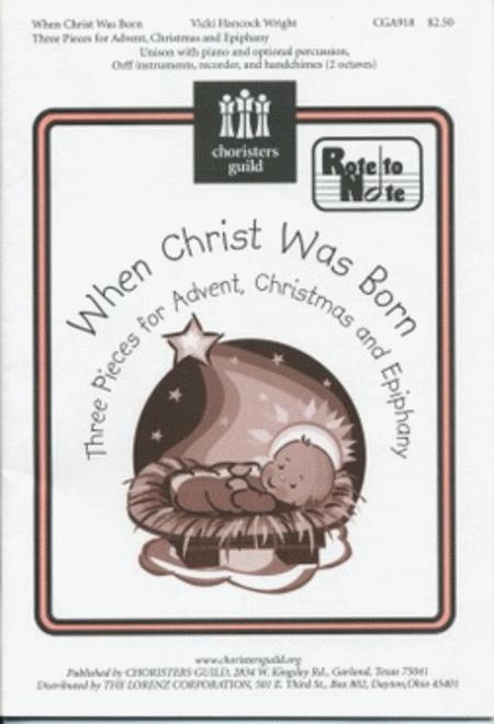 When Christ Was Born