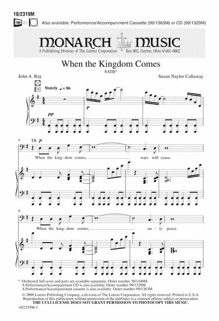 When the Kingdom Comes