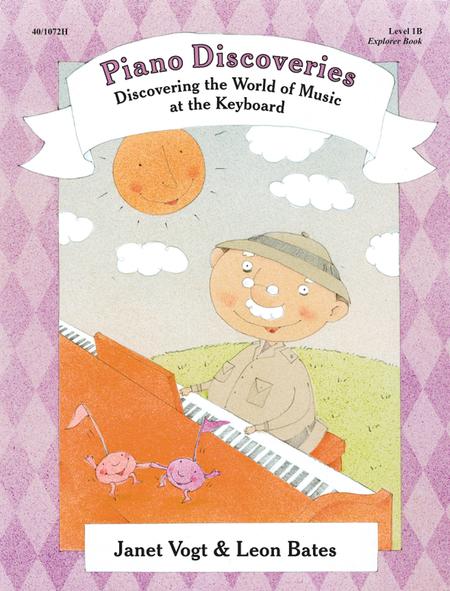 Piano Discoveries Piano Book 1B