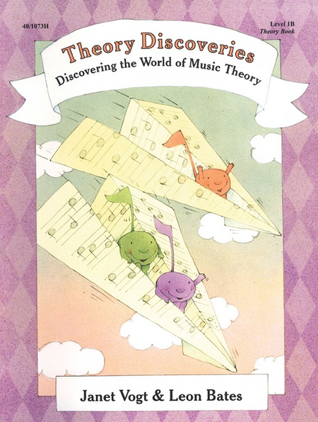 Piano Discoveries Theory Book 1B