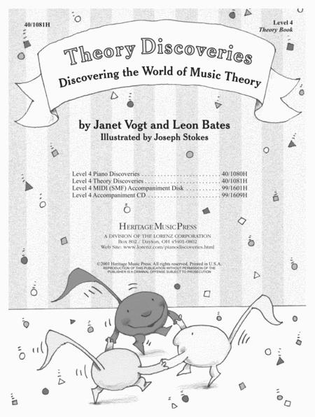 Piano Discoveries Theory Book 4