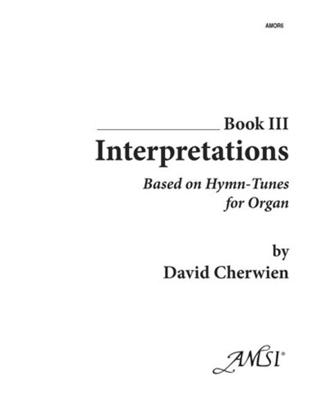 Interpretations, Book III